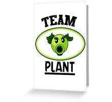 Team Plant Greeting Card