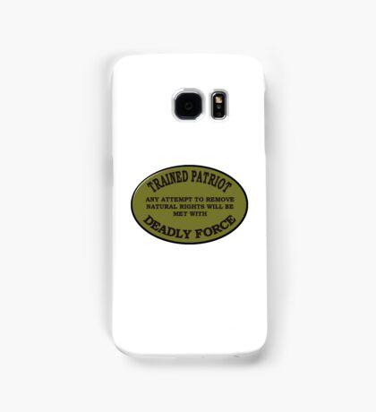 Trained Patriot Samsung Galaxy Case/Skin