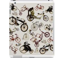 Classic bicycles iPad Case/Skin