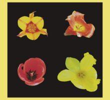 Four tulips Baby Tee