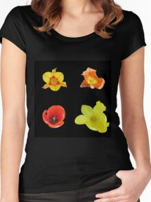 Four tulips Women's Fitted Scoop T-Shirt