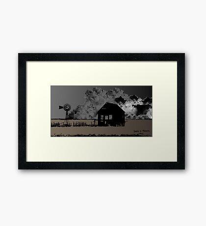 The Dust Bowl 2013 Framed Print