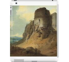 The ruins, depicted here by Hugh William 'Grecian' Williams iPad Case/Skin