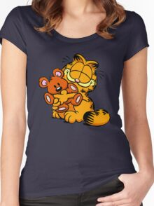 garfield Women's Fitted Scoop T-Shirt