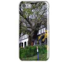 Manor house among the trees iPhone Case/Skin