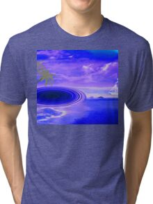 Islands in the stream-  Art + Products Design  Tri-blend T-Shirt