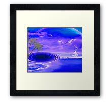 Islands in the stream-  Art + Products Design  Framed Print