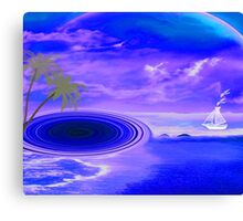 Islands in the stream-  Art + Products Design  Canvas Print