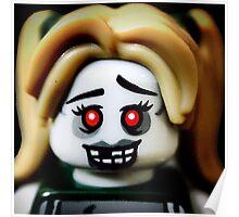 The Zombie Cheerleader minifigure Poster