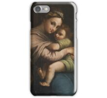 The Virgin of the chair 2 iPhone Case/Skin