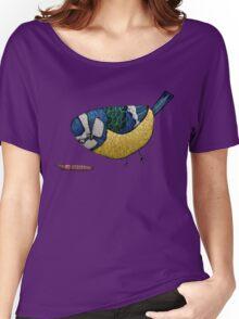 Blue Tit Women's Relaxed Fit T-Shirt