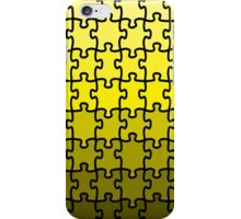 Yellow Puzzle iPhone Case/Skin