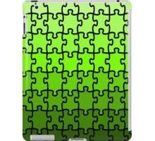 Green Puzzle iPad Case/Skin