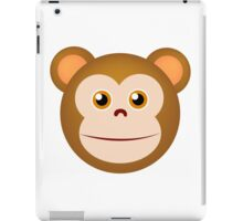 Monkey face cartoon iPad Case/Skin