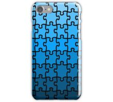 Blue Puzzle iPhone Case/Skin