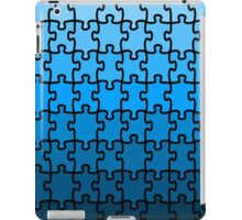Blue Puzzle iPad Case/Skin