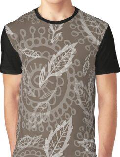 nature doodle pattern Graphic T-Shirt