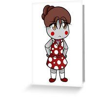 Honey Chibi Greeting Card