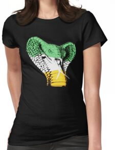 The Viper! Irish Flag Edition Womens Fitted T-Shirt
