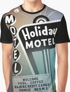 Vegas Motel Graphic T-Shirt