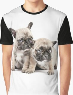 Frenchie Puppy Pals Graphic T-Shirt