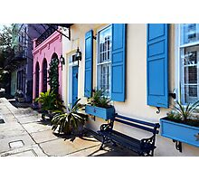 Rainbow Colors in Charleston, South Carolina Photographic Print