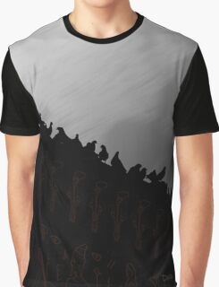 Pigeons On The Egypt 2011 Graphic T-Shirt