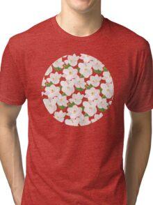 Magnolia Garden (pink) Tri-blend T-Shirt