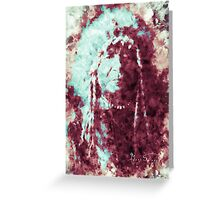 Indian Chief - Painted Greeting Card