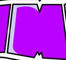 logo xxx Sticker