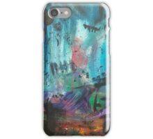 Abstract Markmaking iPhone Case/Skin