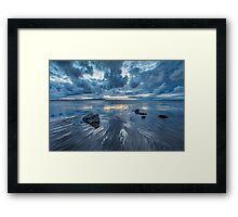 Silloth Blues Framed Print