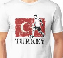 Soccer - Fußball - Turkey Flag Unisex T-Shirt