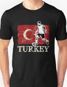 Soccer - Fußball - Turkey Flag Unisex T-Shirt