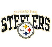 PITTSBURGH STEELERS SIMPLE LOGO Photographic Print