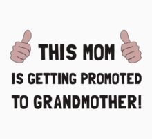 Promoted To Grandmother Kids Tee