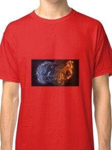 A cool fire and ice design Classic T-Shirt