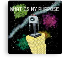 WHAT IS MY PURPOSE Canvas Print