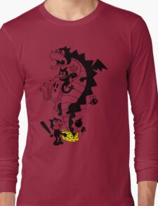 Creatures From The Magic Bag Long Sleeve T-Shirt