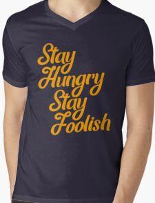 Stay hungry stay foolish gradation inspiration  Mens V-Neck T-Shirt