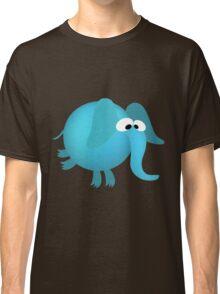 Blue elephant cartoon Classic T-Shirt