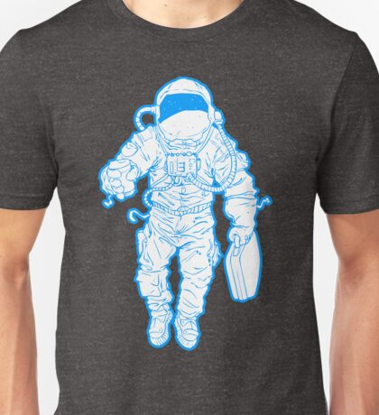 Daily Commute Astronaut Unisex T-Shirt