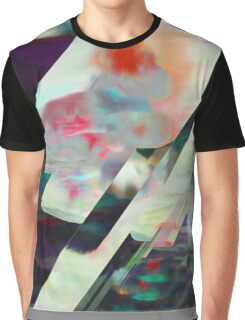 Water Lilies Interference Graphic T-Shirt