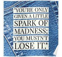 Robin Williams Quote Poster