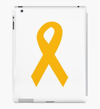 Orange Ribbon iPad Case/Skin