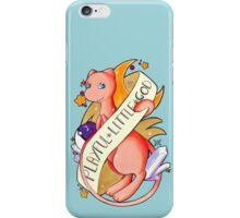 #151 Mew - A Playful Little God  iPhone Case/Skin