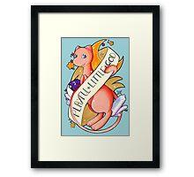 #151 Mew - A Playful Little God  Framed Print