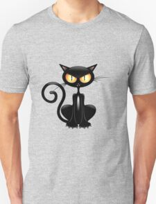 Amusing black cat T-Shirt