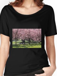 Under A Cherry Blossom Tree Women's Relaxed Fit T-Shirt