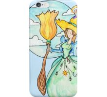 Farmer Witch - Green Witch / Fairy Godmother iPhone Case/Skin